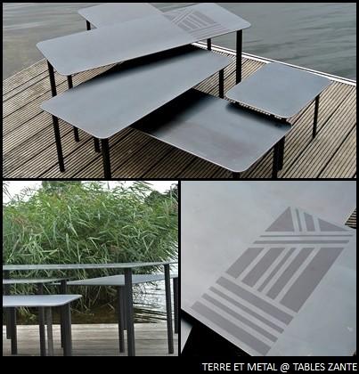 TABLES ZANTE