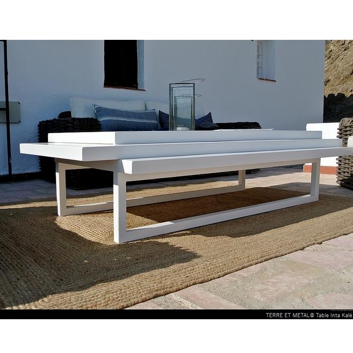 Table Inta Kalé blanche